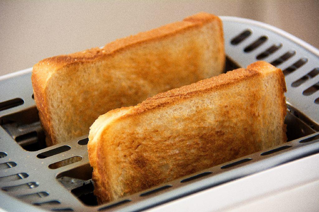 pain de mie au grille pain